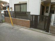 千葉市S様邸 フェンス新設工事